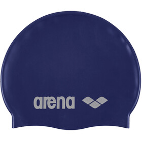 arena Classic Silicone Badehætte, denim-silver